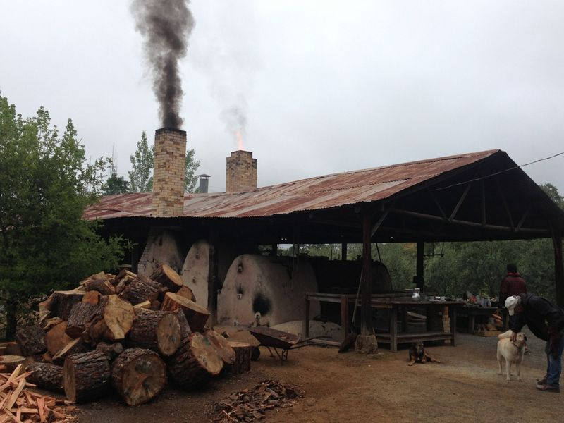Bam kiln firing